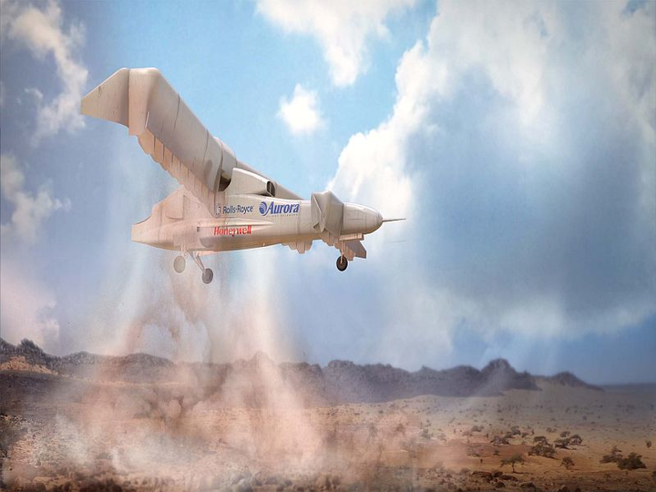 Aurora to build DARPA VTOL X-Plane technology demonstrator with distributed hybrid-electric propulsion system