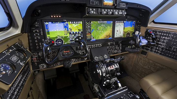 Beechcraft King Air turboprop aircraft with Rockwell Collins Pro Line Fusion flight deck earns EASA certification