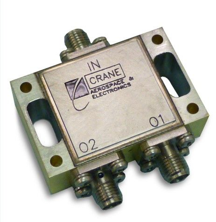 Crane launches K-Band 2-way Iso-Divider for satellite and space applications