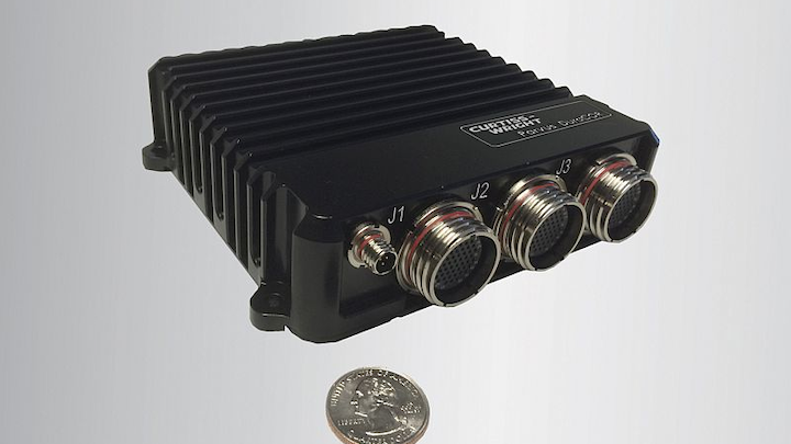 Curtiss-Wright debuts ARM-based, low-power, ultra small, rugged mission computer
