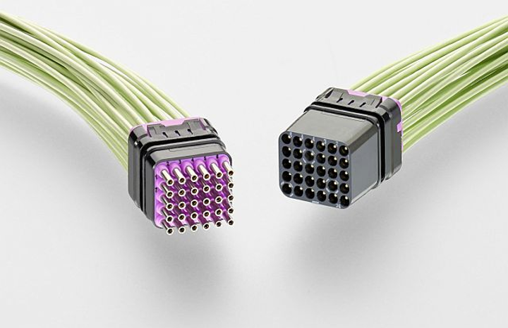 TE Connectivity high-density aircraft modules enhance pin protection, reduce harness size