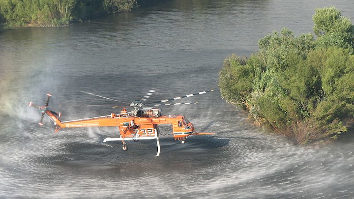Alaskan officials opt for Erickson medium-lift helicopters for fire suppression