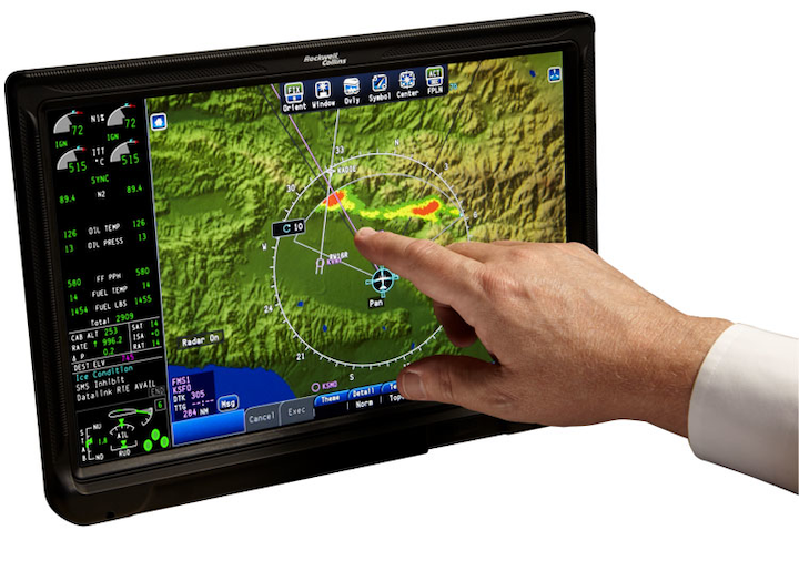 Rockwell Collins integrated flight deck selected for forward-fit and retrofit turboprop aircraft cockpit upgrades