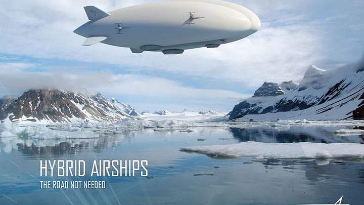 Straighline Aviation to buy up to 12 Lockheed Martin Hybrid Airships for oil & gas cargo transport
