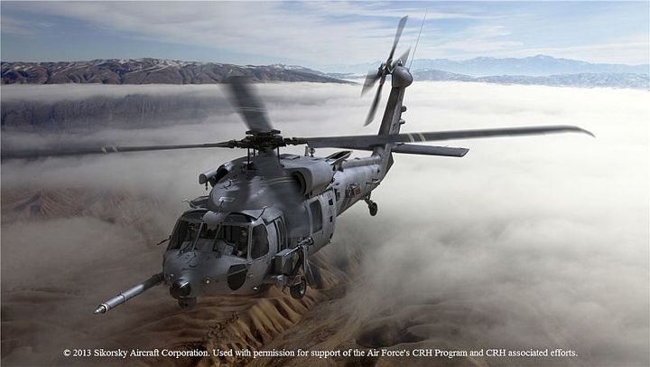 U.S. Air Force to equip combat rescue helicopters with BAE Systems missile warning, IFF systems