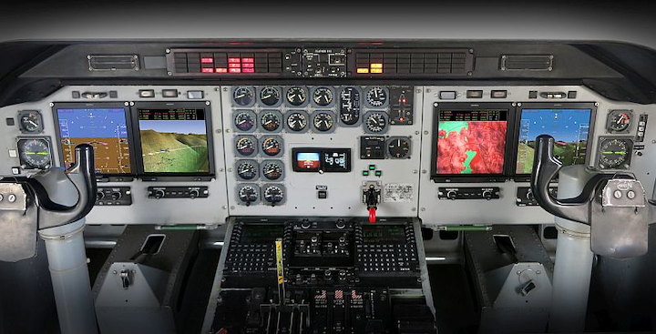 Chilean Army replaces obsolete equipment on CN-235 aircraft with Universal Avionics flight deck upgrade