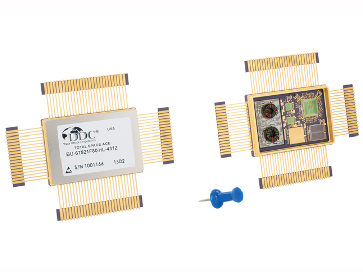 DDC introduces Total-Space radiation-tolerant MIL-STD-1553 components for space applications