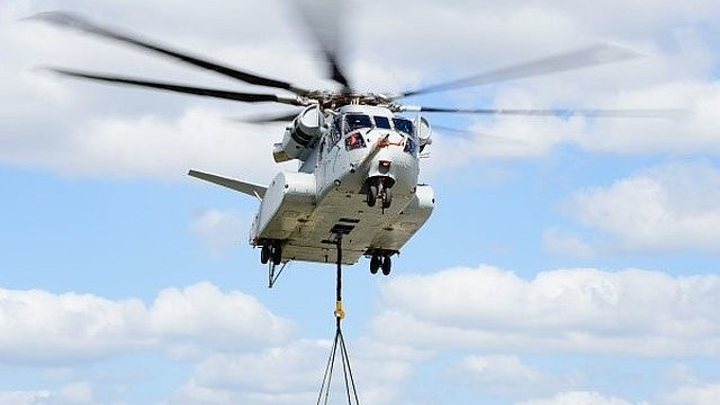 Sikorsky CH-53K King Stallion heavy-lift helicopter achieves first flight with external load
