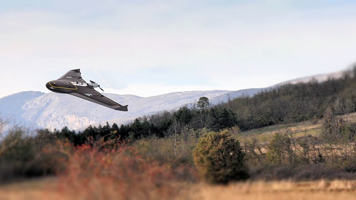Surveying a mountain highway with unmanned aircraft systems