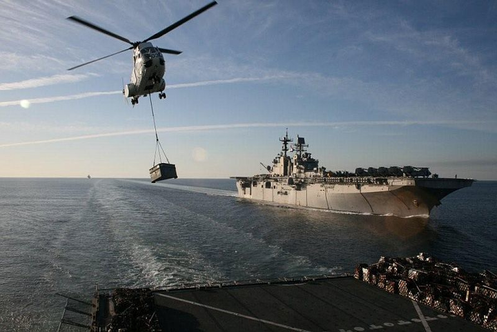 U.S. Navy Military Sealift Command selects Erickson to provide rotary-wing vertical replenishment