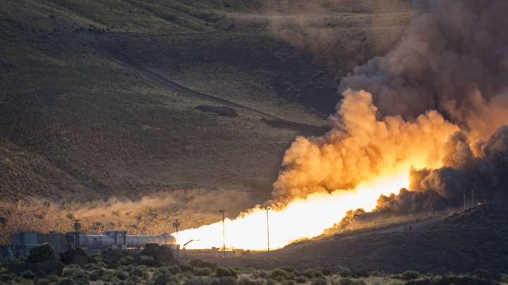 NASA, Orbital ATK perform final Space Launch System booster system qualification test