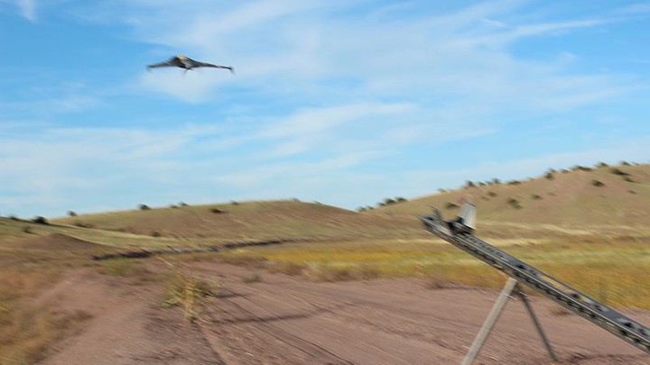 Using unmanned aircraft for land development
