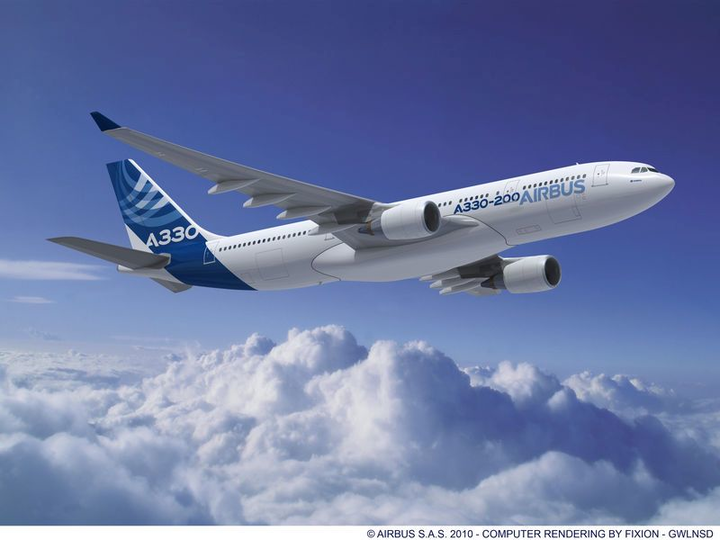 Crane Aerospace & Electronics provide tire pressure indication system for Airbus A320, A330 commercial jets