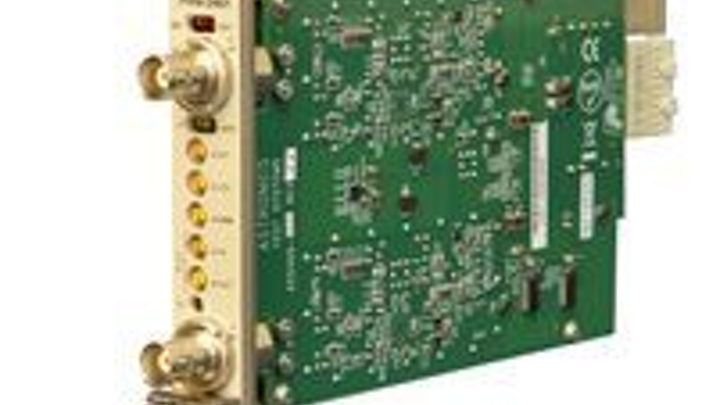 Astronics Test Systems and National Instruments introduce Frequency Time Interval Counter