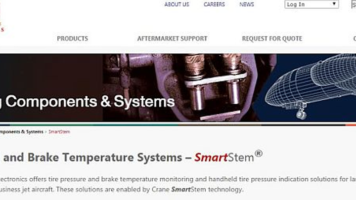 Japan Airlines to retrofit Boeing 737NG, 767 aircraft with Crane SmartStem wireless tire pressure monitoring system