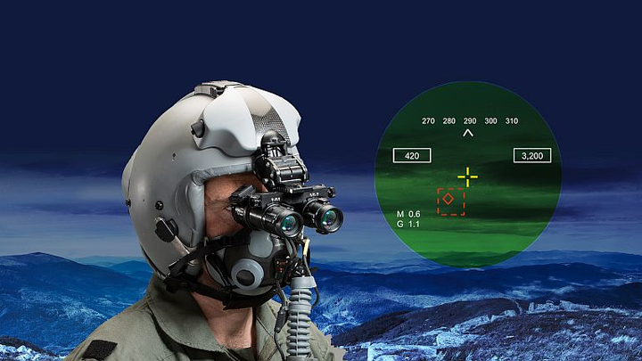 Elbit Systems Digital Eye Piece add-on transforms existing HMDs, NVGs into night-vision smart helmets