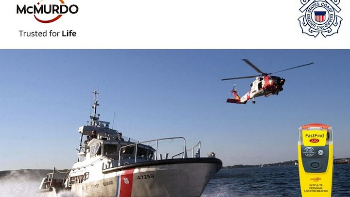 U.S. Coast Guard buys up to 16,000 McMurdo emergency distress/personal locator beacons to enhance crew safety