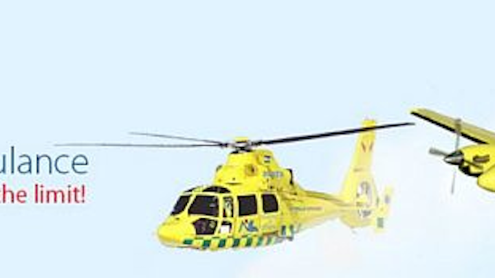 Marlink and IDG Europe complete Smalltrack trials on Swedish air ambulance fixed-wing aircraft, medical helicopter