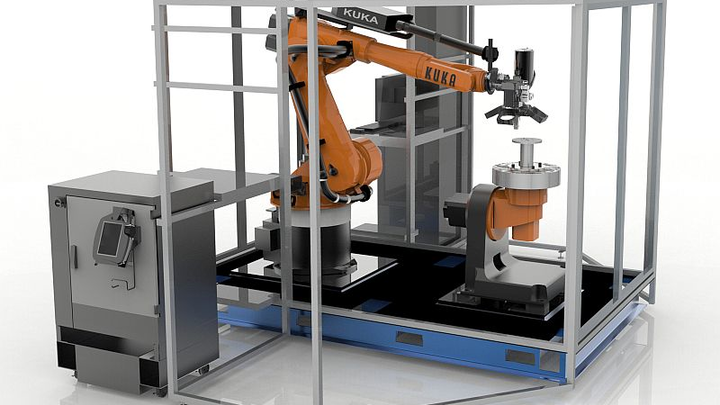 Stratasys Robotic Composite 3D Demonstrator boasts Siemens' motion control hardware, PLM software