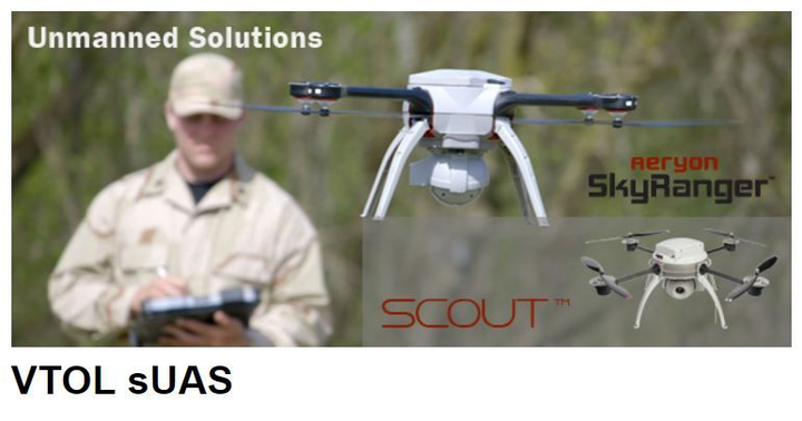 Datron wins $495M contract to deliver VTOL small unmanned aircraft, communications