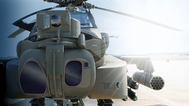 Lockheed Martin to ugrade pilot situational awareness, night-vision sensors in U.S. Army Apache helicopters