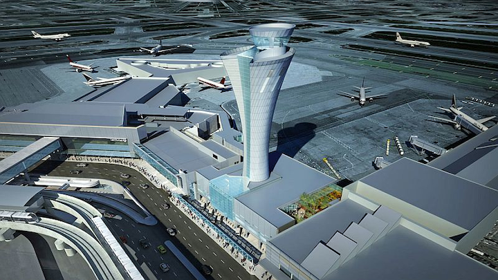 FAA and SFO officials partner on green air traffic control tower with modern electronics