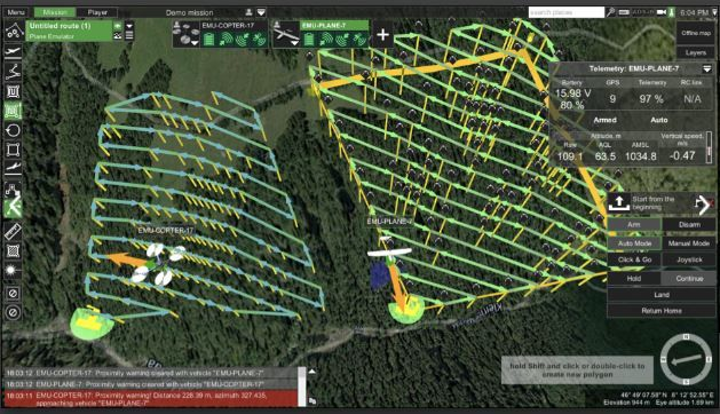 Kinetic mesh network brings aerial broadband connectivity, improved communications to UAS