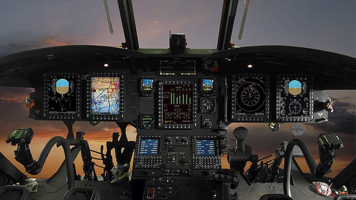 Rockwell Collins supports, services U.S. Army CH-47F Chinook helicopter cockpit avionics