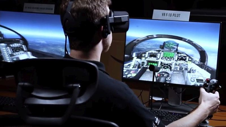 Bohemia Interactive Simulations develops VR-based flight training for U.S. Navy