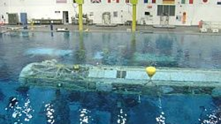 Astronauts rely on consistent communications during underwater mission simulation and training