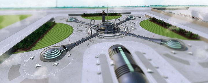 High-tech, queue-free airports are only 25 years away
