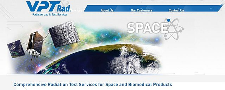 VPT Rad expands DLA-approved services to include single event effects testing of electronic devices