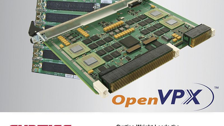 Curtiss-Wright brings Gen 4 PCIe capability to standard VPX, extends OpenVPX performance