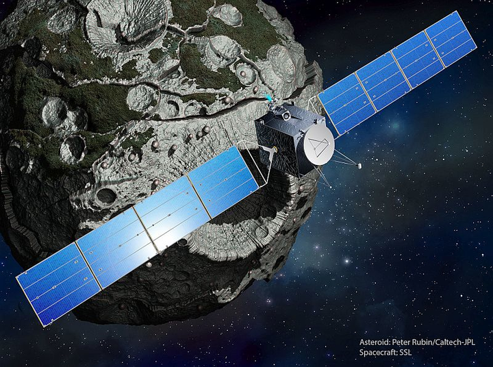 NASA selects SSL to provide composite spacecraft with solar electric propulsion for asteroid mission