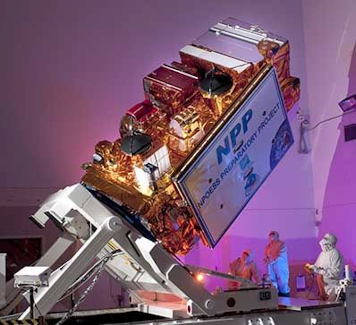 Ball Aerospace to continue to provide engineering support to sustain Suomi NPP satellite providing critical weather data