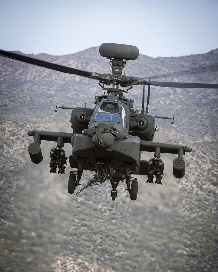 Boeing wins $3.4B U.S. Army contract for 268 AH-64E Apache helicopters
