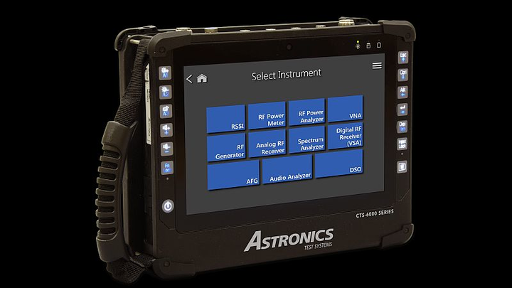 Astronics upgrades portable test system with new test functions, avionics data loader