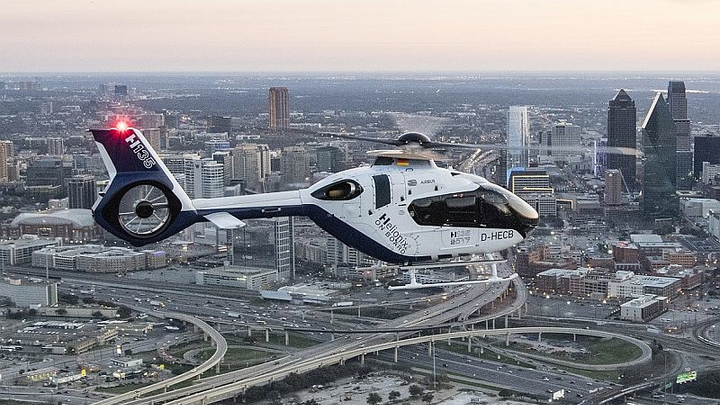 Air medical transport company selects Airbus Helicopters H135 with Helionix avionics