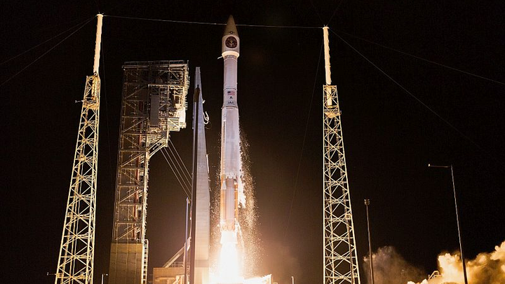 Lockheed Martin-Built SBIRS satellite achieves first light, transmits images