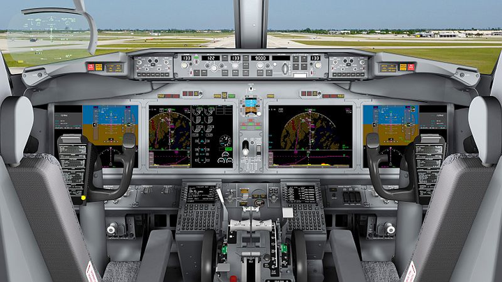 Rockwell Collins delivers Iridium SATCOM units to Boeing for 737 MAX flight deck