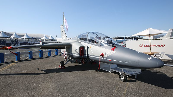 Leonardo unveils M-345 multi-role trainer aircraft, wins Italian Air Force order