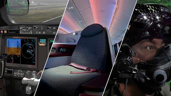 Rockwell Collins focuses on future: cockpit, cabin, communication, and connectivity innovations