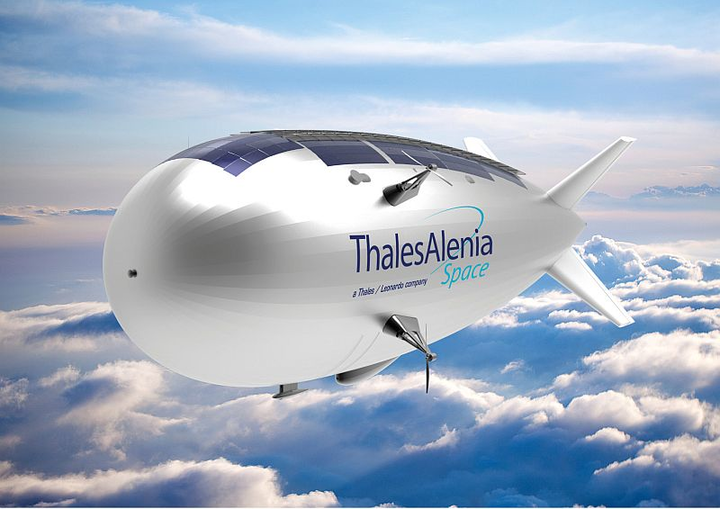 """PARIS AIR SHOW. Thales Alenia Space, the joint venture between Thales and Leonardo, are acquiring a minority stake in French company Airstar Aerospace, maker of airships and flexible structures operating at all altitudes. The strategic partnership is designed to address certain technological roadblocks on Stratobus, a project to develop an autonomous High Altitude Platform System (HAPS)-type airship. Launched in 2015 by Thales Alenia Space, the project will benefit from the two partners' respective areas of expertise, with a flight prototype anticipated by 2020. Signing the official agreement at the Paris Air Show were Jean-Philippe Chessel, head of the Stratobus product line at Thales Alenia Space, and Romain Chabert, chief executive officer of Airstar Aerospace. Thales Alenia Space's equity investment ensures the development of Stratobus by calling on Airstar Aerospace's expertise on the design of smart, high-performance, and connected airships. Airstar Aerospace provides an excellent fit with Thales' development of four key technologies for its own and its customers' digital transformation, namely connectivity, mobility, big data, artificial intelligence, and cybersecurity, officials say. This strategic partnership will give Airstar access to Thales' ecosystem, encompassing both subsidiaries and local small businesses, enabling it to develop other projects with this major space prime. Thales Alenia Space will call on Airstar Aerospace's expertise in the design of flexible structures for space, as well as captive observation balloons, platforms that complement the capabilities of drones and the Stratobus airship. """"Airstar Aerospace is proud to be part of the array of strategic small businesses associated with Thales Alenia Space. We will use our skills and expertise to resolve one of the technical roadblocks in the development of Stratobus, namely the need for a custom-designed envelope with all its systems (nose mooring, pressure regulation, tail assembly, etc.),"""