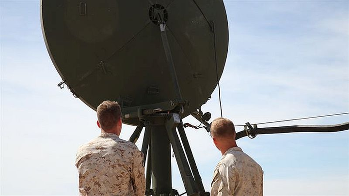 Comtech Telecommunications delivers managed satellite services to U.S. Marine Corps