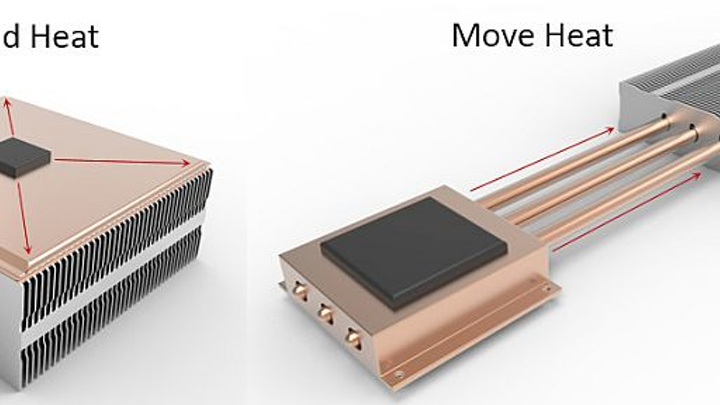 Heat pipes & vapor chambers: conduction cooling stalwart