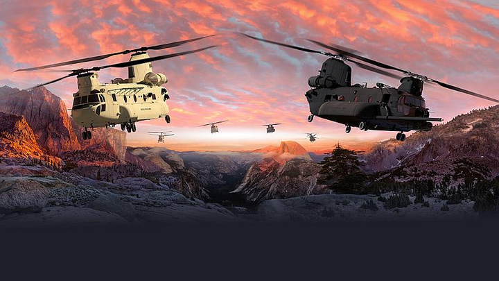 Boeing and U.S. Army to boost technology, capabilities of H-47 Chinook helicopter