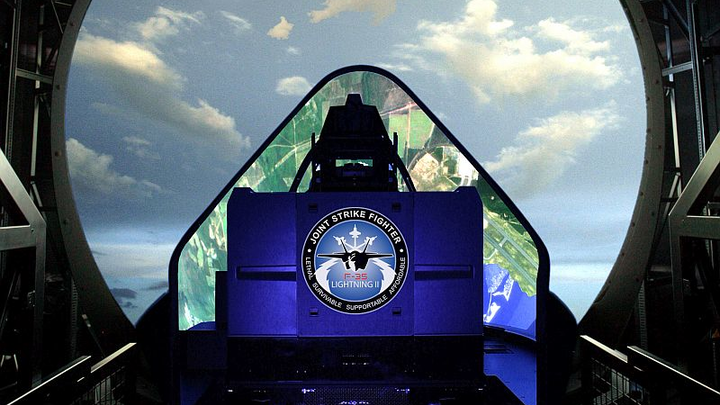 Next-generation U.S. fighter aircraft pilot training deploys most advanced simulation technology