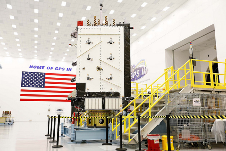 Harris delivers navigation payload, mission data unit for third Lockheed Martin GPS III satellite