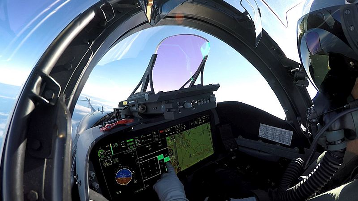 BAE Systems advanced head-up display takes flight on multiple military aircraft
