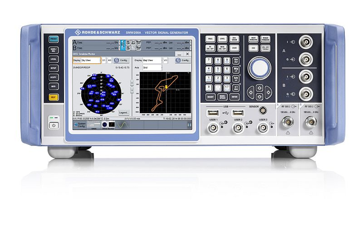 New high-end GNSS simulator from Rohde & Schwarz generates highly realistic test scenarios
